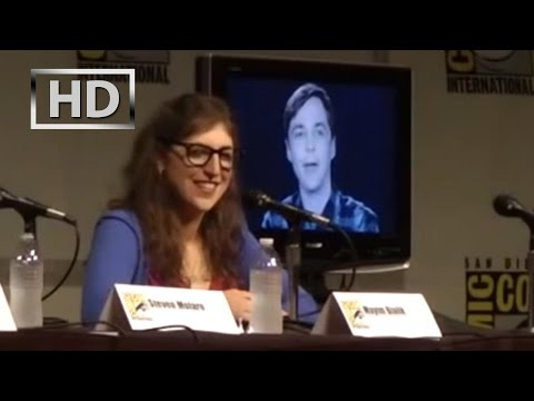 Big Bang Theory | Comic-Con 2012 full panel UNEDITED