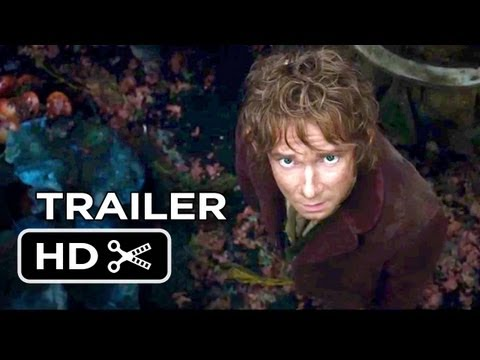 The Hobbit: The Desolation Of Smaug MAIN TRAILER (2013) - Peter Jackson Movie HD