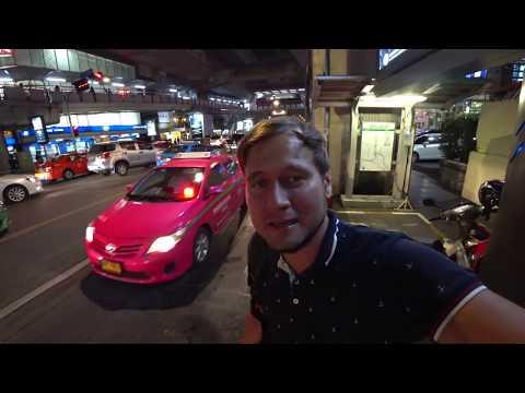 VLOG: Бангкок, Таиланд. Встреча с Нитт, виза, Paragon, Японский ресторан