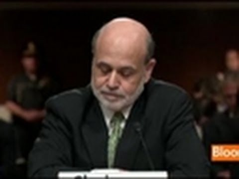 Bernanke on Europe, U.S. Fiscal Policy, Housing