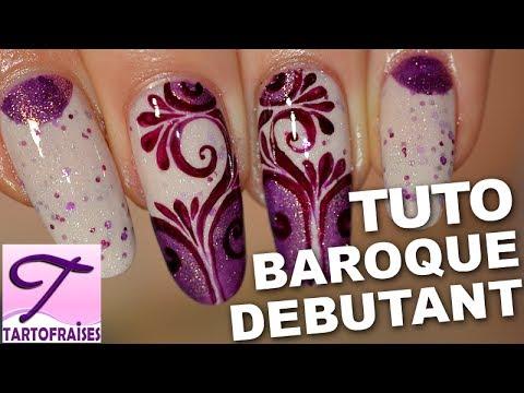 Tuto Nail Art Arabesque