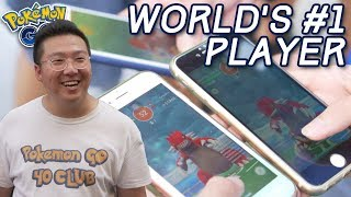 50 RAIDS IN ONE DAY WITH THE WORLD'S #1 POKÉMON GO PLAYER
