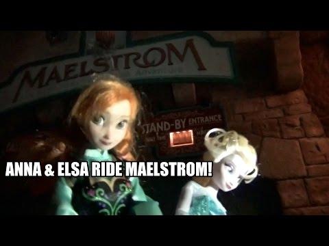 Anna & Elsa Ride Maelstrom at Walt Disney World Epcot To Build A Frozen Attraction