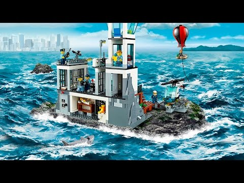 Lego 60130 City Prison Island Review