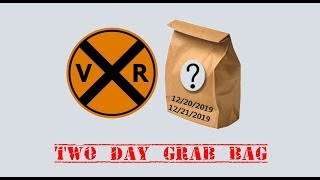 "VRF 2 DAY ""GRAB BAG""!  12/20-21/2019"