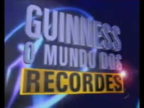 Top Guinnes, o Mundo dos Recordes - 07/12