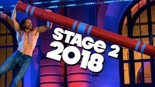 American Ninja Warrior Testing 2018 National Finals Ft Isaac Caldiero Stage 2 3