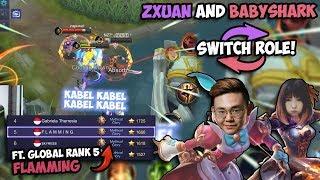 BabyShark & Zxuan Tukeran Hero?