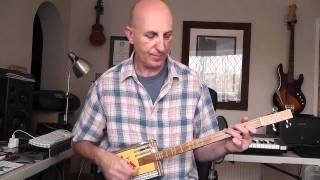 Amazing Grace Cigar Box Guitar Tutorial