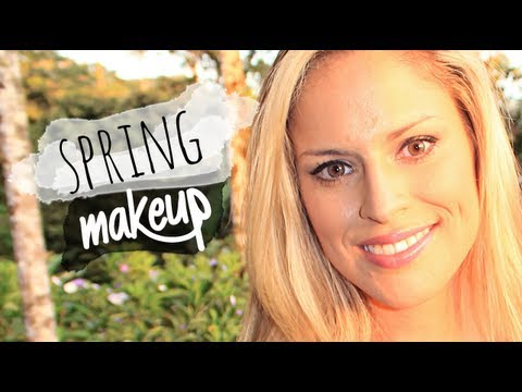 Spring Makeup Tutorial for Brown Eyes