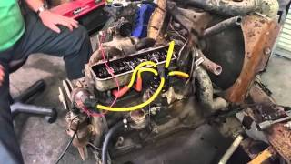 1961 Renault Dauphine Engine (First start in 30 years!)