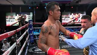 Boxing: Aston Palicte vs Jose Martinez
