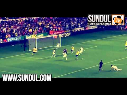 Swansea 1-2 Arsenal. Premier League (28-09-2013)