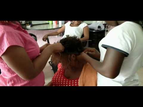Abeku's job:  the beauty parlour.avi