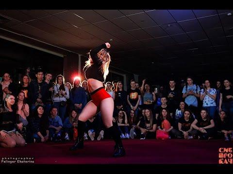 Sibprokach 2017 Dancehall Contest  Dancehall Queen FINAL  Gaika(win) vs Leron