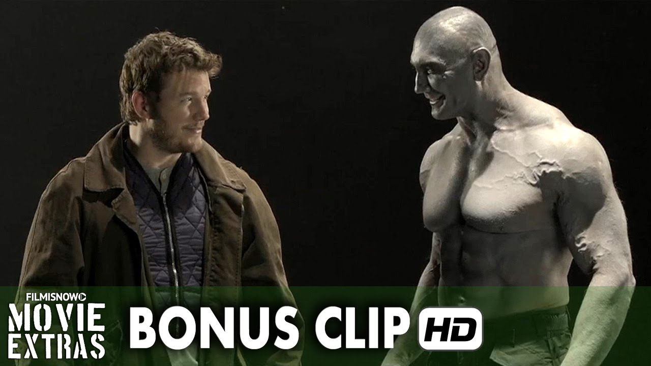 Guardians of the Galaxy (2014) Bonus Clip - Pratt and Dave's Screen Test 'MCU: Phase 2' Box Set