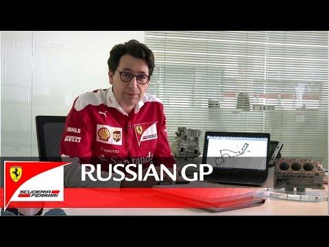 The Russian GP with Mattia Binotto - Scuderia Ferrari 2016