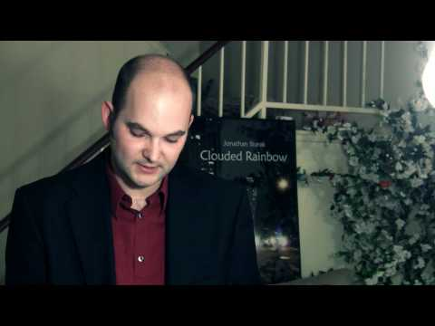 "Jonathan Sturak reads from his new romantic thriller novel ""Clouded Rainbow"""
