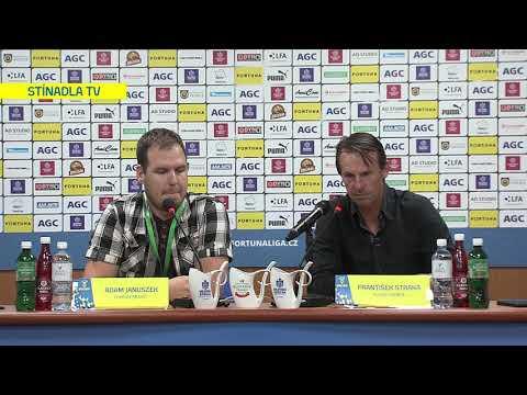 Tisková konference hostujícího trenéra po utkání Teplice - Karviná (1.9.2019)