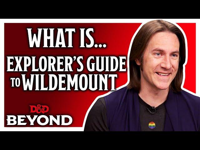 What is the Explorer's Guide To Wildemount? Matt Mercer introduces a new D&D setting thumbnail