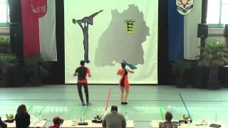 Lorena Pölöskei & Johannes Rösner - Ländle Cup 2015