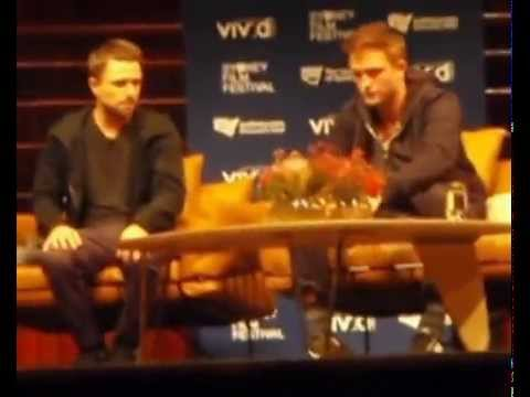 Rob Pattinson during the Rover Q & A in Sydney