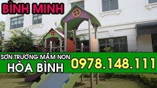 Sơn Trường Mầm Non Hòa Bình PeaceSchool Cầu Giấy -0978148111