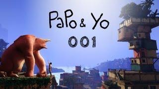 Let's Play Papo & Yo #001 - Eine Favela mit Fantasie [deutsch] [720p] [indie]