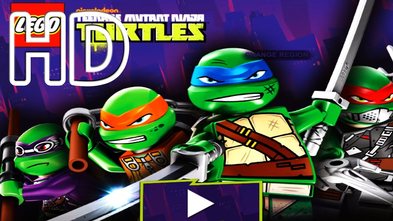 teenage mutant ninja turtles lego games online
