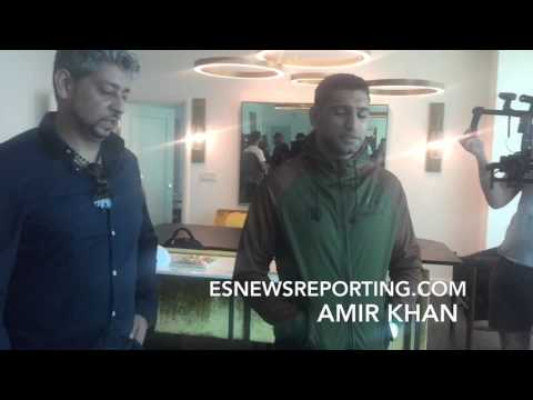 "BEHIND THE SCENES POST CANELO VS KHAN: AMIR KHAN ""I'M FINE"" - EsNews Boxing"
