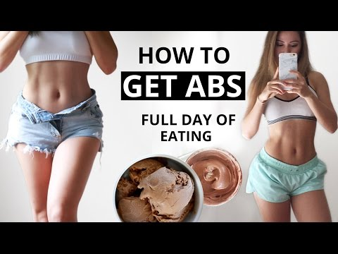 How To Get Abs | Tips and Workout | Full Day of Eating