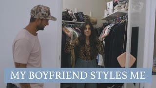 DIT GEBEURT ER ALS JE VRIEND JE OUTFITS KIEST - MY BF STYLES ME - Anna Nooshin