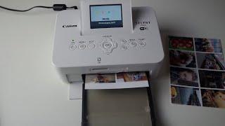 Mein Canon Selphy Drucker ! Vorstellung, Erklärung !