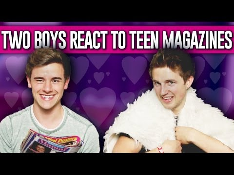 Two Boys React To Teen Magazines video