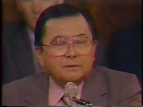 Re: Senator Daniel Inouye on the shadow government