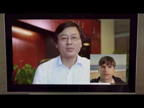 Day in the Life of Ashton Kutcher's Lenovo YOGA Tablet 2 Pro