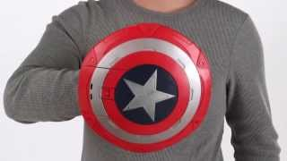 Stealthfire Shield - Demo Video - Super Soldier Gear - Captain America - Hasbro