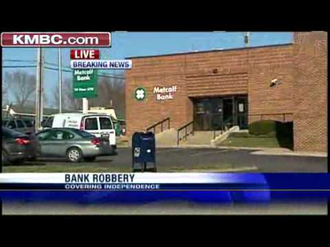 Police Investigate Independence Bank Robbery