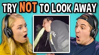 Download Lagu COLLEGE KIDS REACT TO TRY NOT TO LOOK AWAY CHALLENGE #2 (Biggest Fears) Gratis STAFABAND