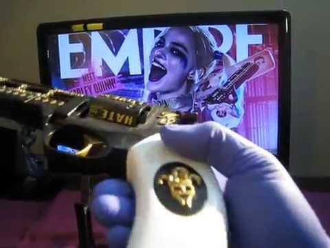 3D Printed Harley Quinn's revolver Ver. 2.0