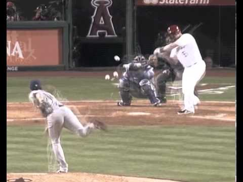 All of Yu Darvish&#39;s Pitches at Once VS Albert Pujols - YouTube
