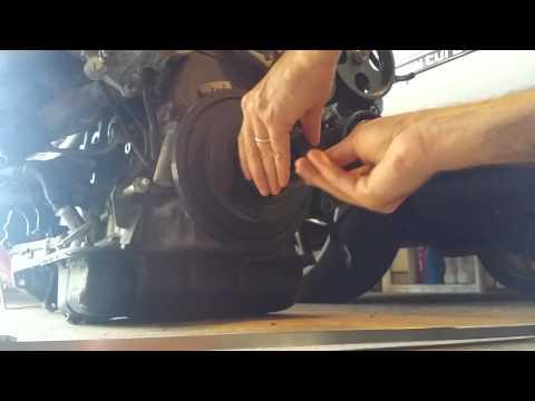 Toyota crank bolt removal tool