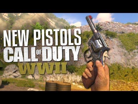 NEW PISTOLS! Enfield No. 2 & Reichsrevolver (Call of Duty: WW2 Gameplay Stream)
