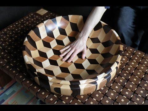 Woodturning - Tumbling bowl xl
