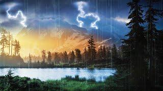 Rain Sounds Southwest Rain And Thunder