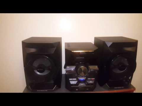 Sony LBT-GPX555 Shelf System