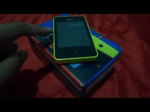Como Atualizar O Sistema E Instalar O WhatsApp No Nokia Asha 501 | How