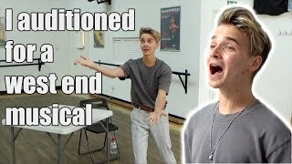 I Auditioned for a West End Musical