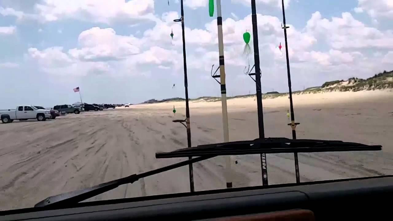 Surf fishing on delaware beach youtube for Delaware surf fishing