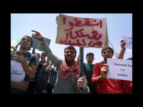 @New@ POLITICIAN BEGS WORLD TO HELP IRAQ'S YAZIDIS e~ 08 07 14